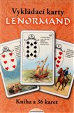 Vykl&#225;dac&#237; karty Lenormand (kniha+karty) (Kniha a 36 karet) - oblka