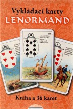 Vykládací karty Lenormand (kniha+karty). Kniha a 36 karet