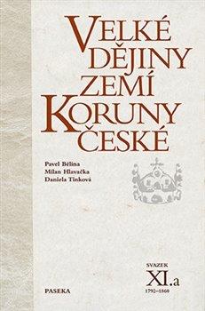 Obálka titulu Velké dějiny zemí Koruny české XI.a
