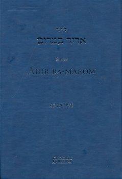Obálka titulu Sidur Adir ba-marom