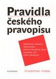 Pravidla českého pravopisu (brož.) (Studentské vydání) - obálka