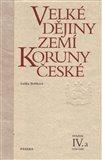 Velké dějiny zemí Koruny české IV.a (1310-1402) - obálka