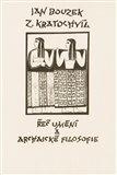 Řeč umění a archaické filosofie - obálka