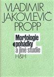 Morfologie pohádky a jiné studie - obálka