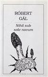 Nihil sub sole novum - obálka