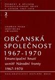 Obálka knihy Občanská společnost 1967-70  1.díl