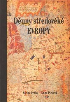 Obálka titulu Dějiny středověké Evropy