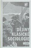 Dějiny klasické sociologie - obálka