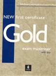 New First Certificate Gold Exam Maximiser with key - obálka