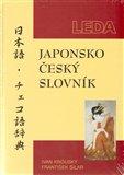 Japonsko-český slovník - obálka