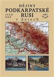 Dějiny Podkarpatské Rusi v datech - obálka