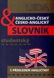 Anglicko-český a česko-anglický studentský slovník - obálka