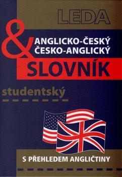 Anglicko-český a česko-anglický studentský slovník. s přehledem angličtiny - kolektiv, Břetislav Hodek