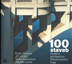 Obálka titulu 100 staveb - moderní architektura Středočeského kraje