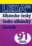 Albánsko-český a česko-albánský slovník - obálka