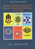 Hospodářské a sociální dějiny Československa 1918-1992. 2.díl (2. díl období 1945-1992) - obálka