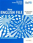 New English File Pre-intermediate Workbook - obálka