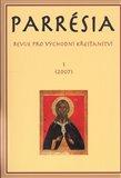 Parrésia 1 (2007) (Revue pro východní křesťanství) - obálka