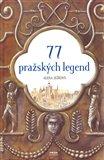 77 pražských legend - obálka