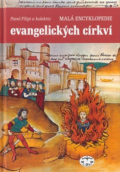 Oblka titulu Mal&#225; encyklopedie evangelick&#253;ch c&#237;rkv&#237;