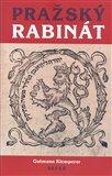 Pražský rabinát - obálka