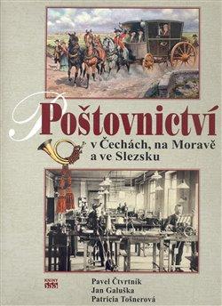 Obálka titulu Poštovnictví v Čechách, na Moravě a ve Slezsku