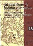 Ad iustitiam et bonum commune - obálka