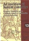Obálka knihy Ad iustitiam et bonum commune