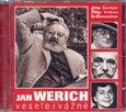 Jan Werich vesele i vážně - obálka