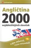 Angličtina - 2000 nejdůležitějších slovíček - obálka