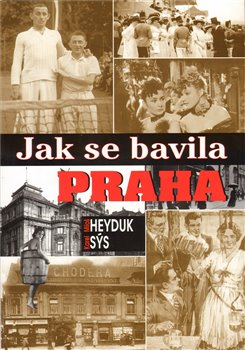Oblka titulu Jak se bavila Praha