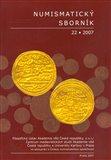 Numismatický sborník 22/2007 - obálka