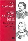 Jména z čekých dějin II., která byste měli znát - obálka