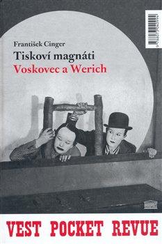 Obálka titulu Tiskoví magnáti Voskovec a Werich