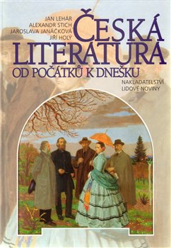 Oblka titulu esk&#225; literatura od po&#225;tku k dneku