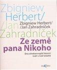 Ze země pana Nikoho, Dva středoevropští básníci tváří v tvář totalitě - obálka