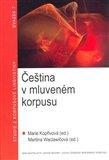 Čeština v mluveném korpusu - obálka