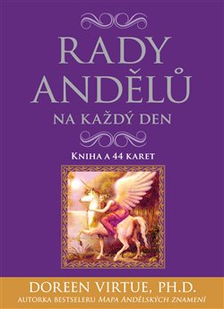 Rady andělů na každý den - karty + příručka. Kniha a 44 karet - Doreen Virtue