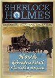 Nová dobrodružství Sherlocka Holmese - obálka