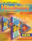 New Headway Pre-Intermediate 3rd edition - Student´s Book with Czech wordlist OUP - obálka