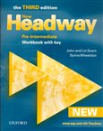 New Headway Pre-Intermediate 3rd edition - Workbook with key - obálka