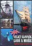 Velký slovník lodí a moře - obálka