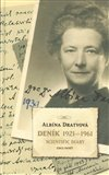 Deník 1921-1961 (Scientific Diary) - obálka