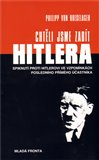 Chtěli jsme zabít Hitlera - obálka