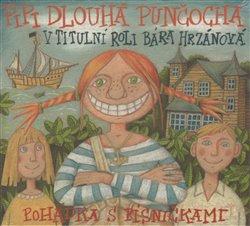 Pipi Dlouhá punčocha, CD - Astrid Lindgrenová