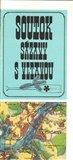 Soutok Sázavy s Vltavou : mapa - obálka