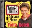 Tajný deník Adriana Molea - obálka
