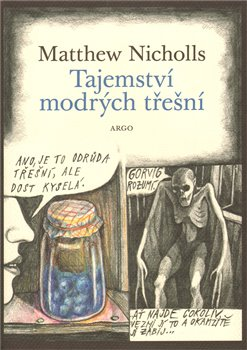 Oblka titulu Tajemstv&#237; modr&#253;ch ten&#237;