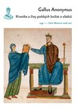 Kronika a činy polských knížat a vládců - obálka