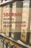 Sborník Archivu bezpečnostních složek 6/2008 - obálka